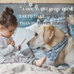 Kids And Dog Quotes Facebook