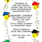 Kindergarten Graduation Card Messages