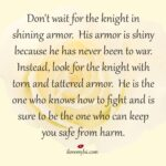 Knight In Shining Armor Quotes Twitter