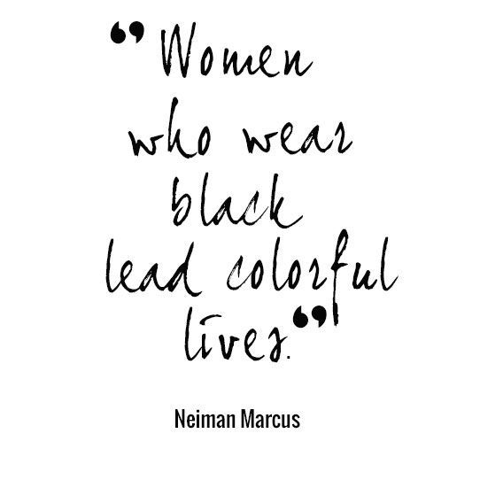 Lady In Black Quotes Pinterest