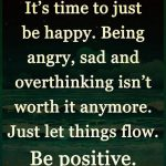 Let's Stay Positive Quotes Tumblr