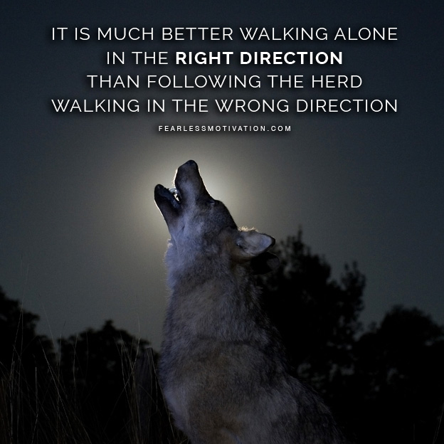 Lone Wolf Quotes About Strength Facebook