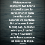 Long Distance Sad Quotes Tumblr