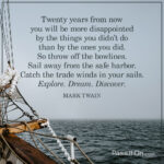 Mark Twain Quotes 20 Years Tumblr