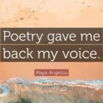 Maya Angelou Poetry Quotes Twitter
