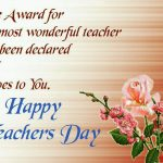Message For A Teachers Day