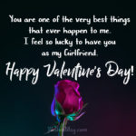 Message For Girlfriend Valentines