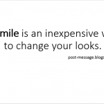 Smile Message Quote