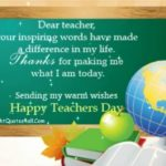 Message To A Teacher On Teachers Day Tumblr