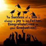Message To Son Graduating College Pinterest