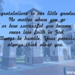 Message To Son Graduation