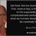 Michael Pollan Eat Mostly Plants Quote Twitter