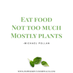 Michael Pollan Quote Eat Food