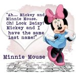 Minnie Mouse Famous Lines Facebook