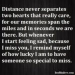 Missing Someone Very Special Quotes Facebook