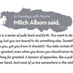 Mitch Albom Quotes Tuesdays With Morrie Tumblr
