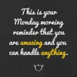 Monday Morning Inspirational Quotes Facebook