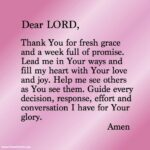 Monday Morning Prayer Quotes Pinterest