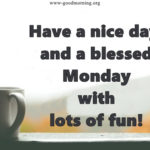Monday Wishes Quotes Facebook