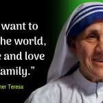Mother Teresa Quotes On Love Pinterest