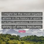 Motivational Quotes For Injured Athletes Tumblr