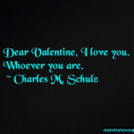 My Dear Valentine Love Quotes Facebook