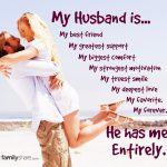 My Husband Is My Best Friend My Greatest Support