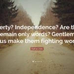Nathan Hale Quote Tumblr