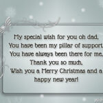 New Year Wishes For Dad Facebook