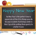 New Year Wishes Messages For Teacher Facebook