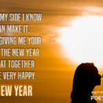 New Year With My Love Quotes Pinterest