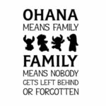 Ohana Saying Pinterest