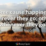 Oscar Wilde Happiness