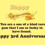 Our 3rd Wedding Anniversary Quotes Twitter