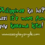 Pick Up Lines For Valentines Day Tagalog Facebook
