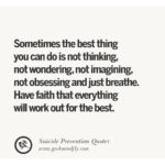 Positive Quotes For Suicidal Thoughts