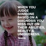 Positive Quotes On Down Syndrome