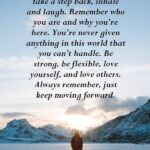 Positive Quotes To Keep Moving Forward Pinterest