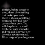 Positive Thoughts Before Bed Quotes Tumblr