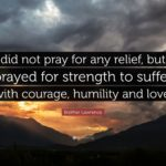 Prayer For Strength And Courage Quotes Tumblr
