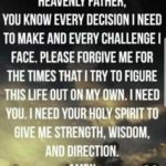 Prayer For Strength And Wisdom Quotes