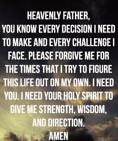 Prayer Quotes About Strength Facebook