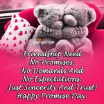 Promise Day Quotes For Friends Tumblr