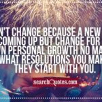 Quotes About A New Year And Change Twitter