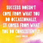 Quotes About Consistency And Success Tumblr