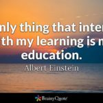 Quotes About Education And Learning