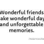 Quotes About Friends And Memories Pinterest