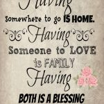 Quotes About Home And Family
