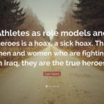 Quotes About Role Models From Athletes Facebook