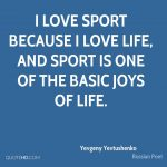 Quotes About Sports And Life